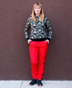 Женские брюки Альба. Красные.