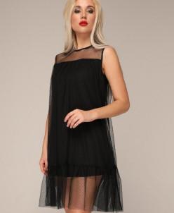 Платье 252 черный
