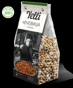 Коллекция  Yelli - Чечевица с томатами