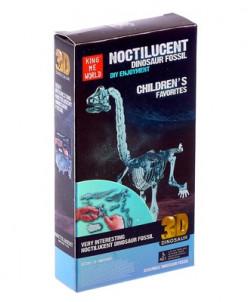 Пазл 3D «Брахиозавр» со световыми эффектами