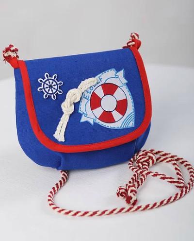 """Кармашек-сумочка для девочки """"Море"""""""