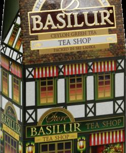 "Чай Basilur ""Чайный магазин"" 100г. картон."