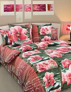 Перкаль Дикая орхидея 1,5 спальный