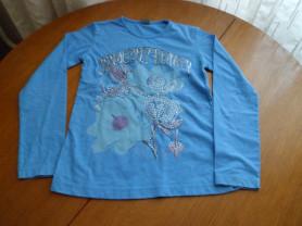 Хлопковая кофточка Zara для девочки 128 см