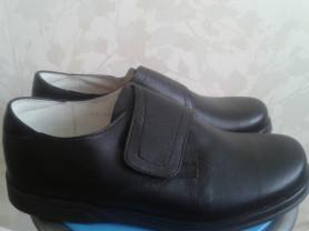 Ботинки новые, ортопедия, кожа, 27 см стелька