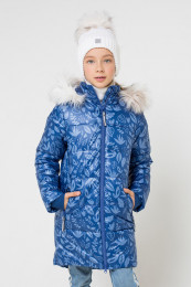 79116 Пальто (CROCKID)темно-синий