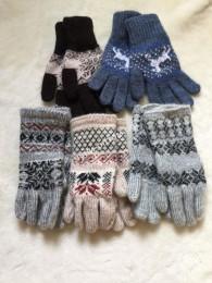 Перчатки женские из ангоры