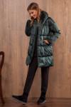 пальто Nova Line Артикул: 10059 изумруд