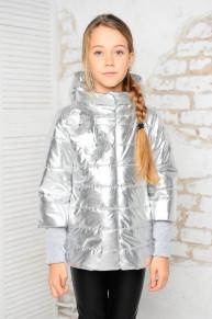 Куртка «Миледи», серебро