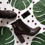 Удобные ботинки на устойчивом каблуке. New collection 17-18!