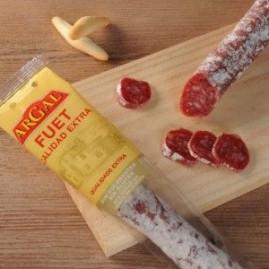 Испанская сыровяленная колбаса Argal Fuet, 160г.