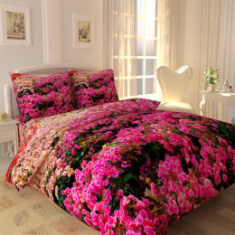 КПБ Луг розовых цветов