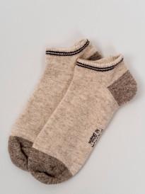 Носки спортивные из 100% шерсти серый, Монголия