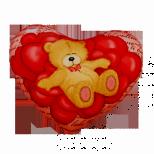 Подушка - сердце 05