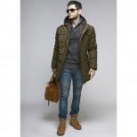 Куртка мужская зимняя 076 Nikolom зеленая Беларусь