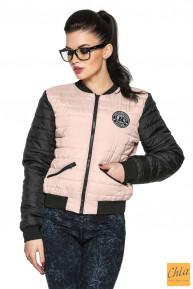 Куртка деми Майя розовый