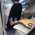 Авто-накидка защитная на спинку сидения ЧЕРНАЯ