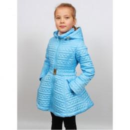 Пальто-клеш демисезонное для девочки 11617 Пралеска (Беларус