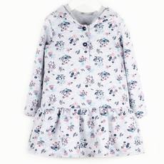 Платье 891А1 серый