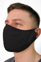 Декоративная маска мужская  черный