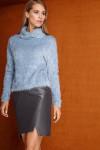 свитер, юбка LaVeLa Артикул: L2305 голубой/серый