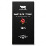 Swiss Original Горький шоколад с кусочками клюквы 100 гр кар