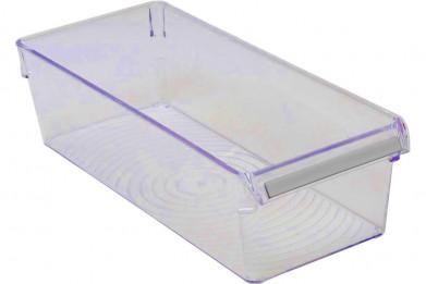 Контейнер для холодильника или шкафа (прозрачно-синий)
