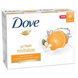 Dove go fresh Beauty Bar, Mandarin and Tiare Flower 4 ,10 шт