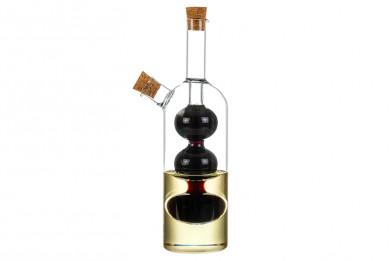 "Бутылка для масла/уксуса 2в1 230+90 мл 8,5*5,5*21 см ""Vetro"""
