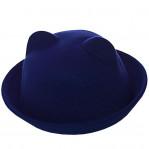 Шляпа фетровая F16001 электрик