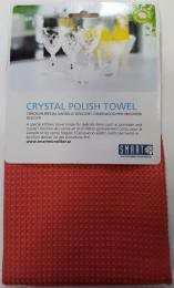 Полотенце для ценной посуды 40х60 красное, Smart Microfiber