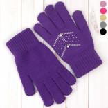 Детские перчатки вязаные