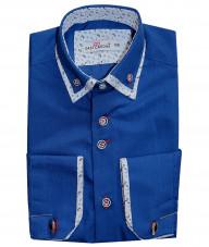 Рубашка для мальчика, Dast cardin, синяя