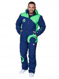 Мужской горнолыжный костюм, 2019-2020, арт.A-8819, Синий