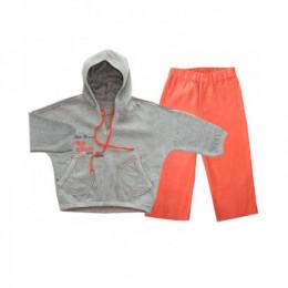 Спортивный костюм для девочки оранжевый Bell Bimbo