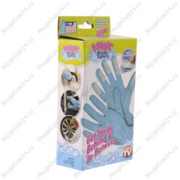 Перчатки для трудно доступных мест magik bristle gloves
