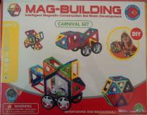Магнитный конструктор MAG BUILDING, 48 деталей