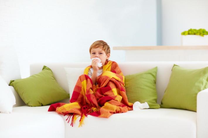 Сезон простуд и ОРВИ: если ребенок заболел