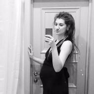 Фото животиков на 19 неделе беременности