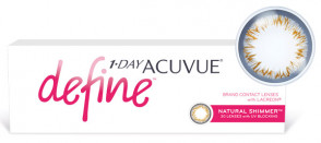 1-Day Acuvue Define Естественное сияние (30 линз) в упаковке
