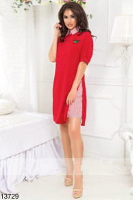 Платье-рубашка 13729