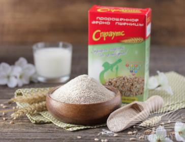 Зерно пшеницы пророщенное измельченное фасованное (0,2 кг)