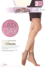 НОСКИ OMSA EASY DAY 40 DEN (2 ПАРЫ)