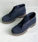 Замшевые ботинки для девочки, р.31-37