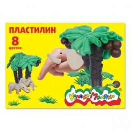 Пластилин Каляка-Маляка 8 цв