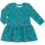 Платье для девочки лисичка №37