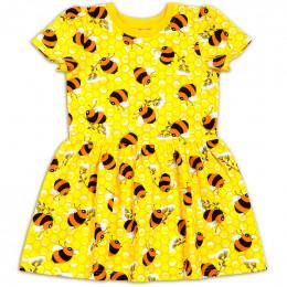 Платье для девочки пчелка