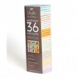 Подарочный набор из 36 шоколадок по 10 гр