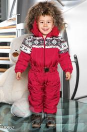 Теплый детский комбинезон Gepur