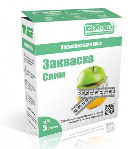 Пробиотик-закваска Слим для похудения, нормализации веса